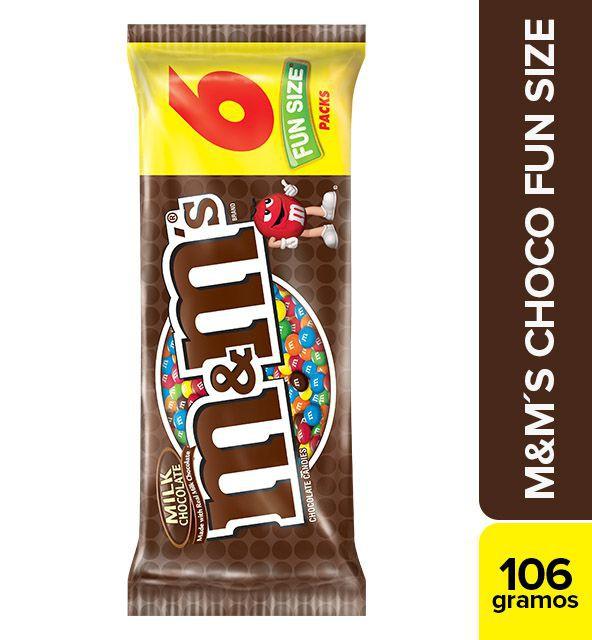 Chocolate leche fun size