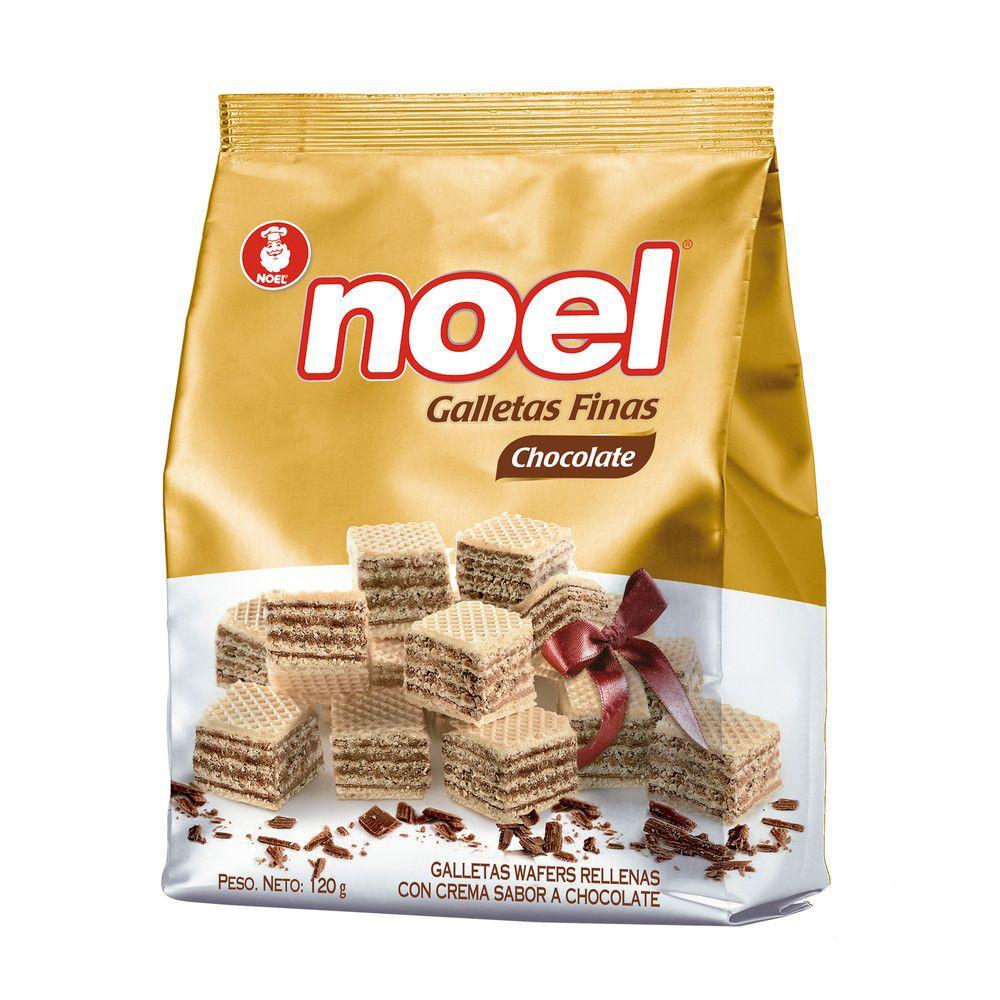 Galleta Wafer cubitos chocolate x 126 gr