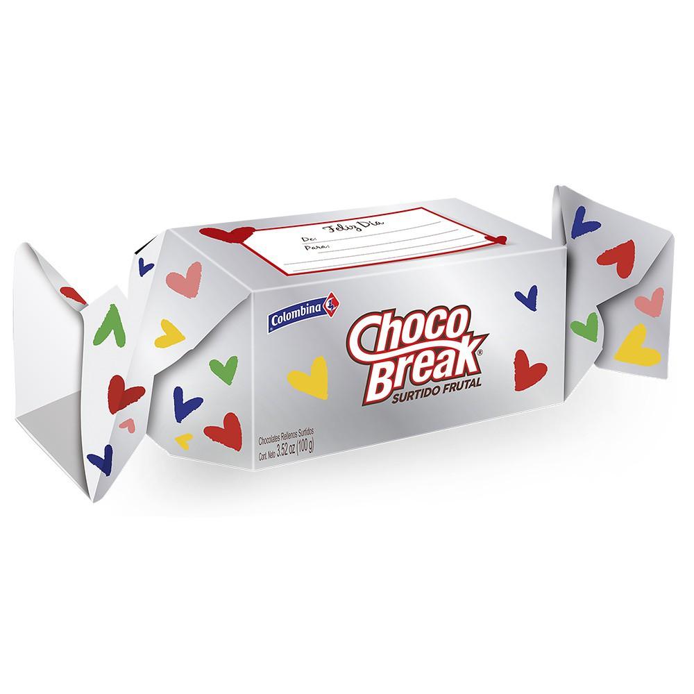 Chocolates con relleno frutal