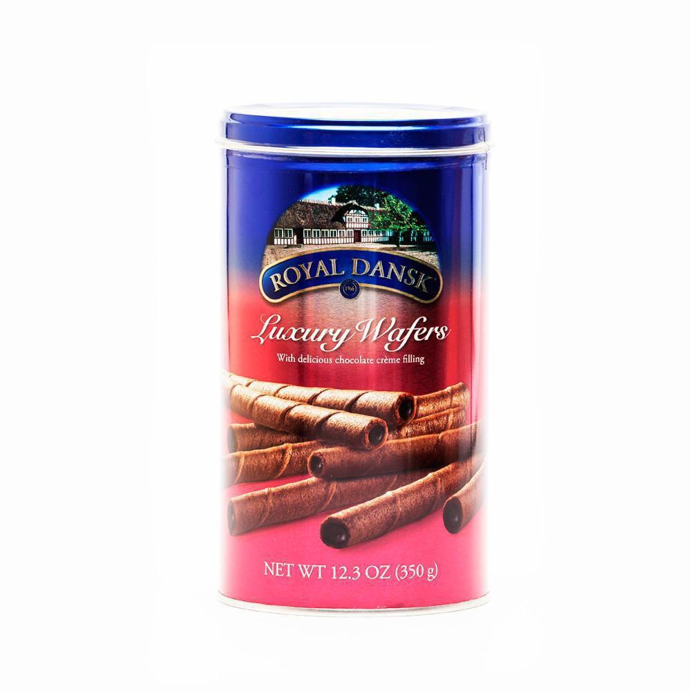 Barquillos Rellenos Chocolate