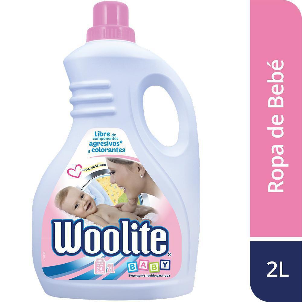 Detergente líquido baby