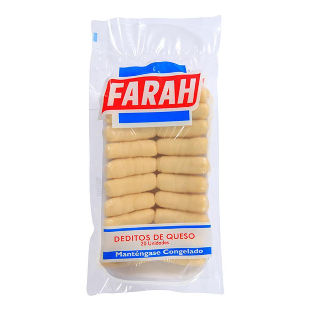 Deditos De Queso X 400 Gr 20 Unids Farah