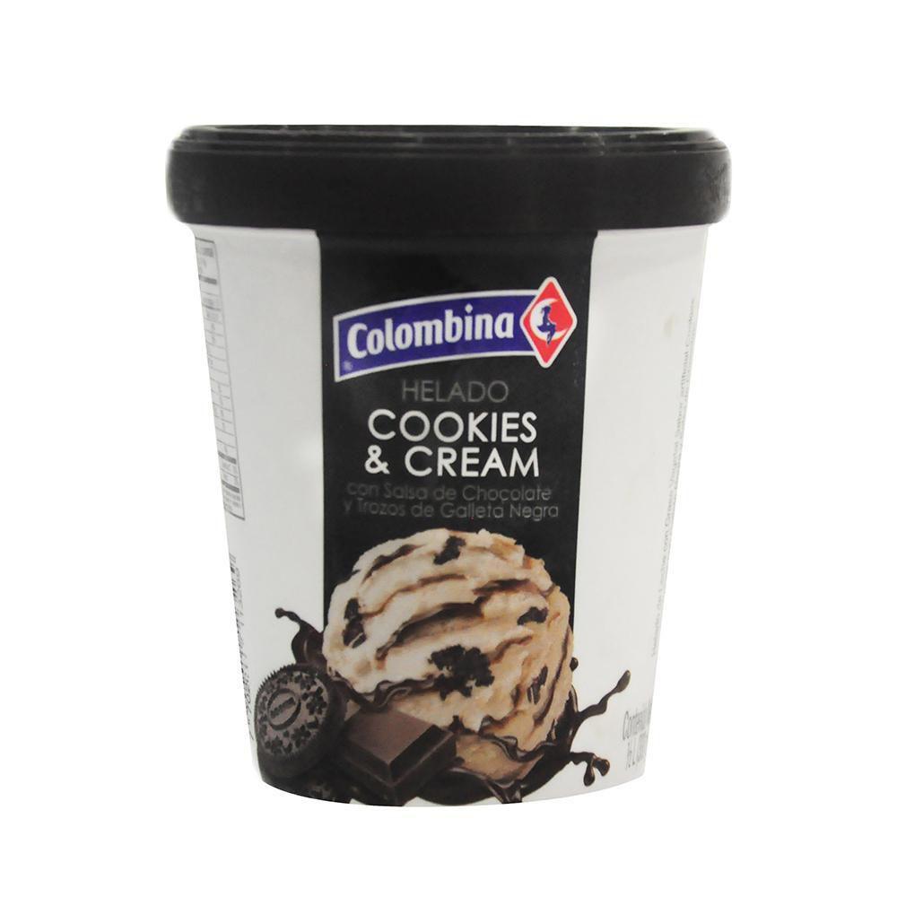 Hel Cookies  Cream 1 2 Litro