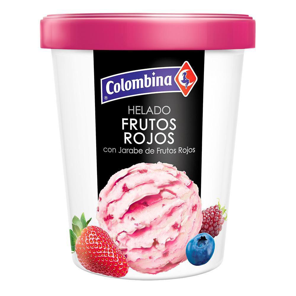 Helado Frutos Rojos 1 2 Litro