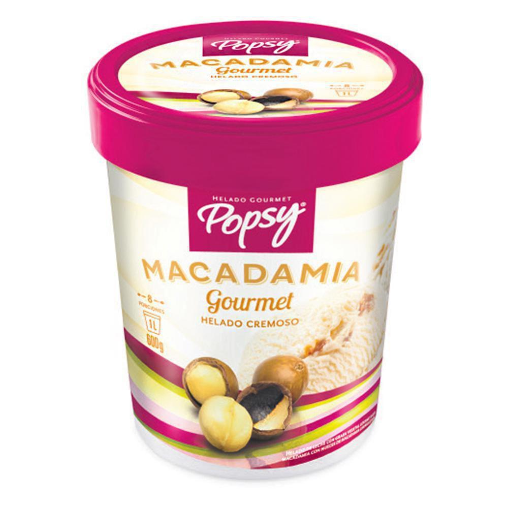 Helado Cremoso Macadamia Gourmet X 1 lt