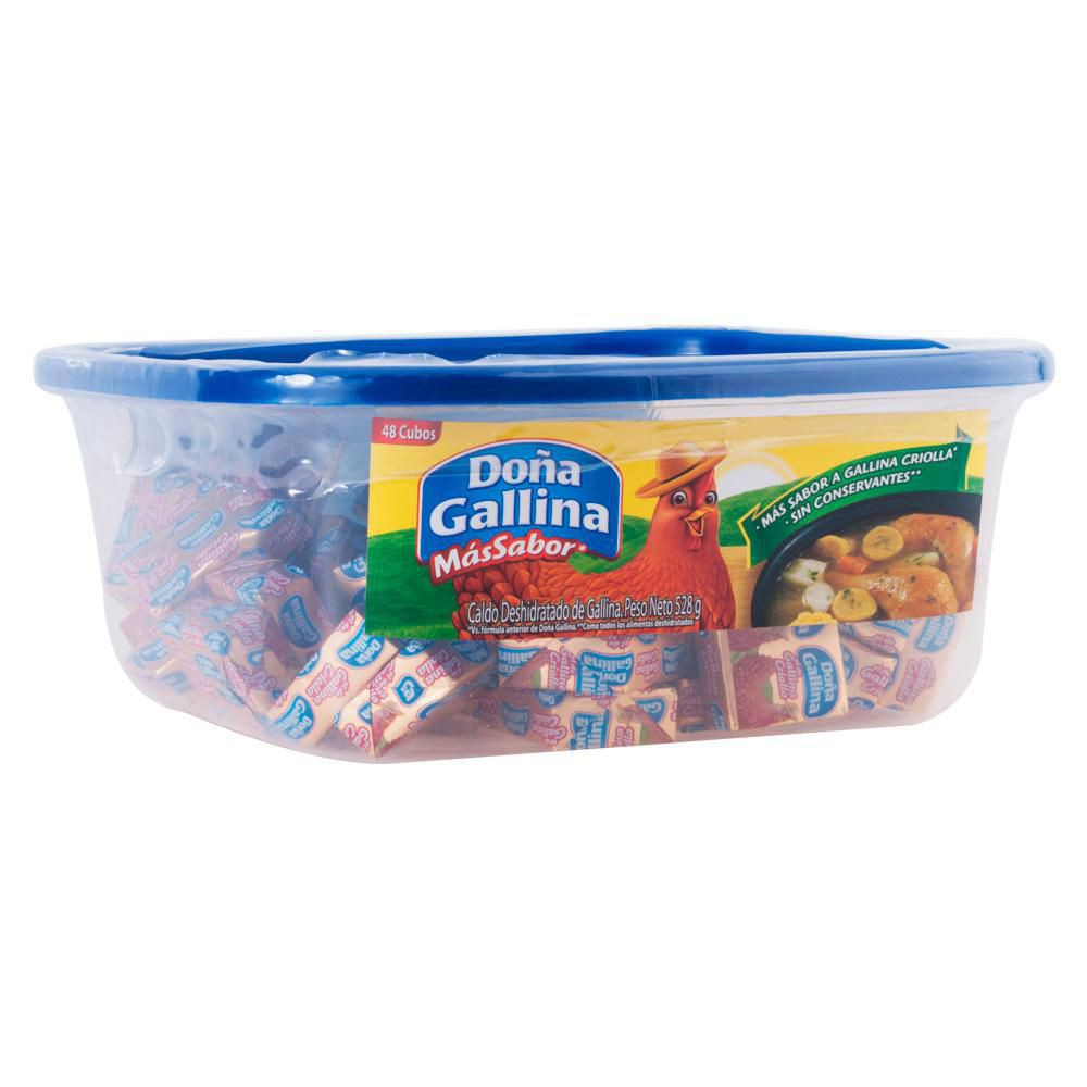 Caldo De Grallina Tarro X 48 Cubos