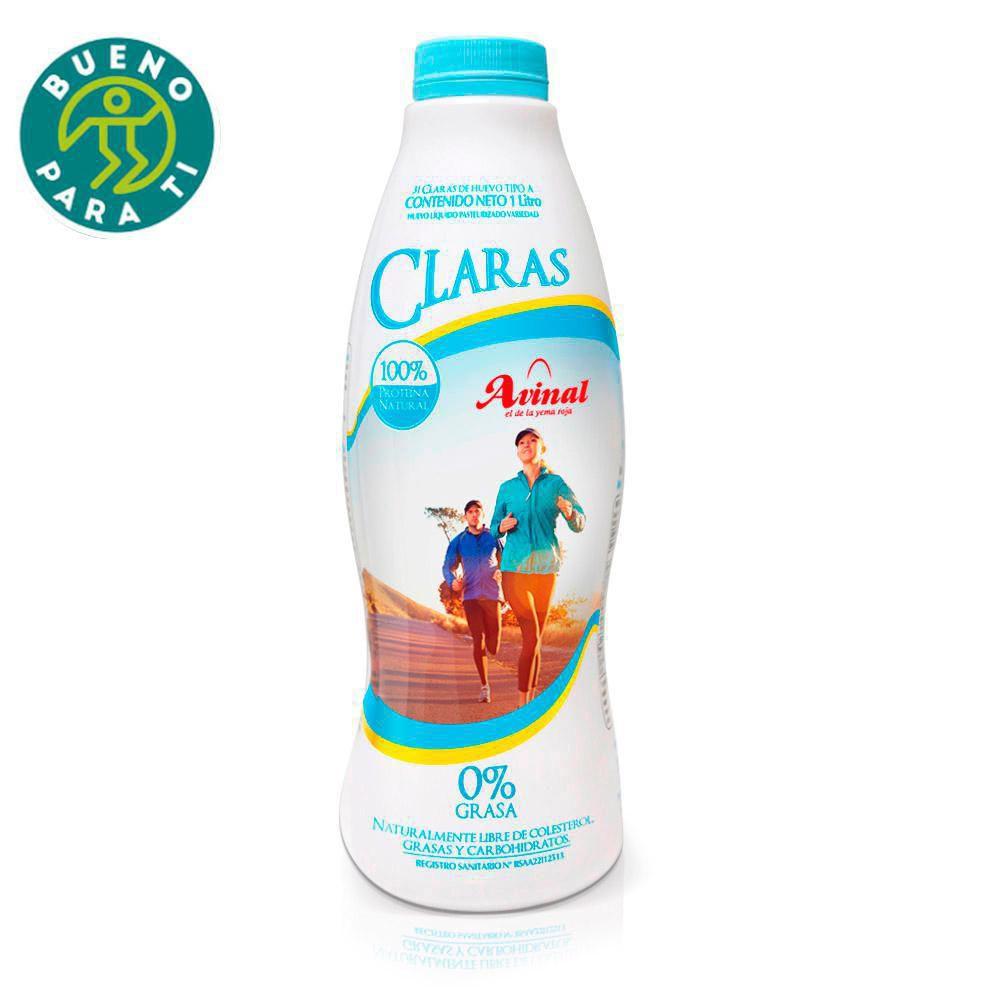 Claras De Huevo Avinal 1000 ml