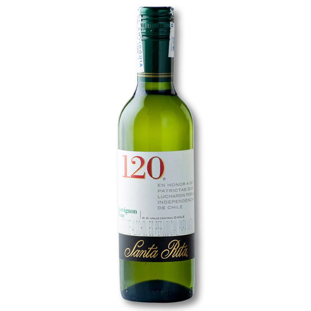 Vino Blanco Santa Rita 120 Sauvignon Blanc 375 ml