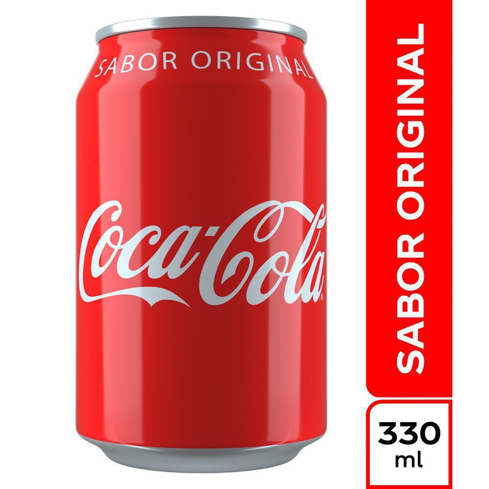 Coca Cola 330 Ml Lata