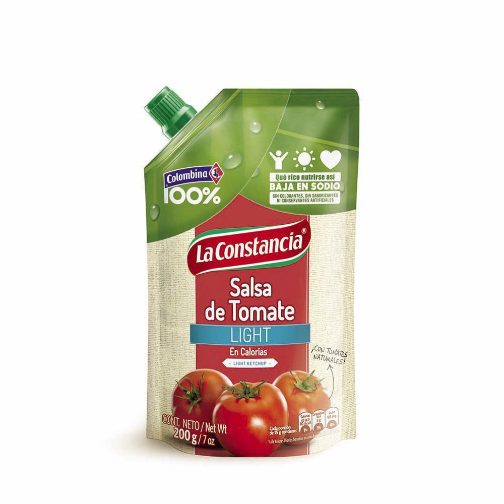 Salsa Tomate Light Baja En Sodio X 200 gr