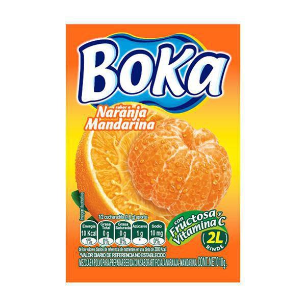 Refresco Polvo Naranj Mandarin