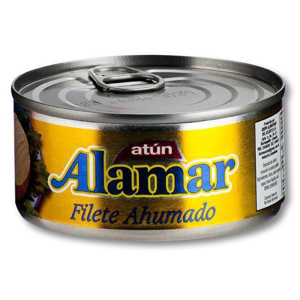 Filete De Atun Ahumado Lata X 170 gr