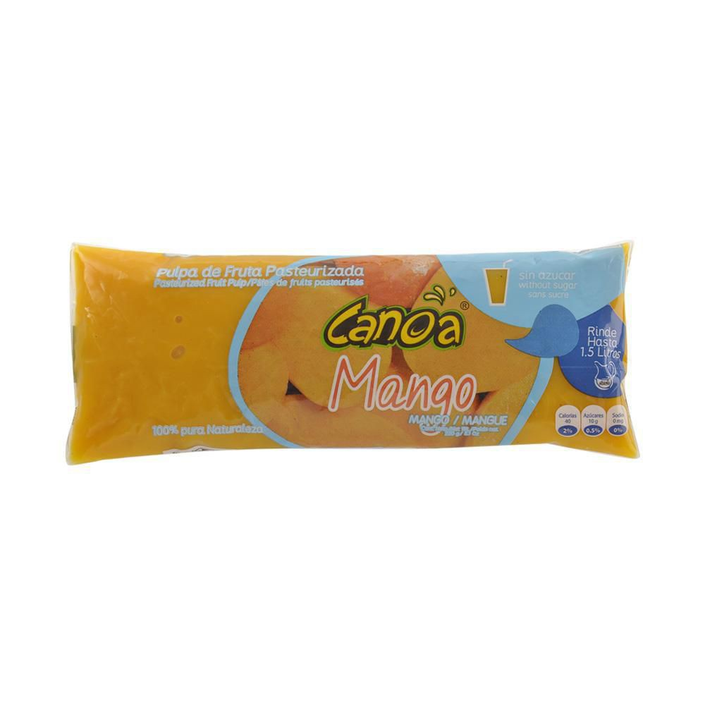 Pulpa Mango Sin Azucar