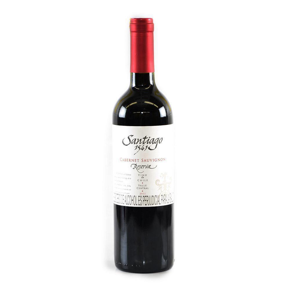 Vino Tinto Cabernet Sauvignon Reserva X 750 ml