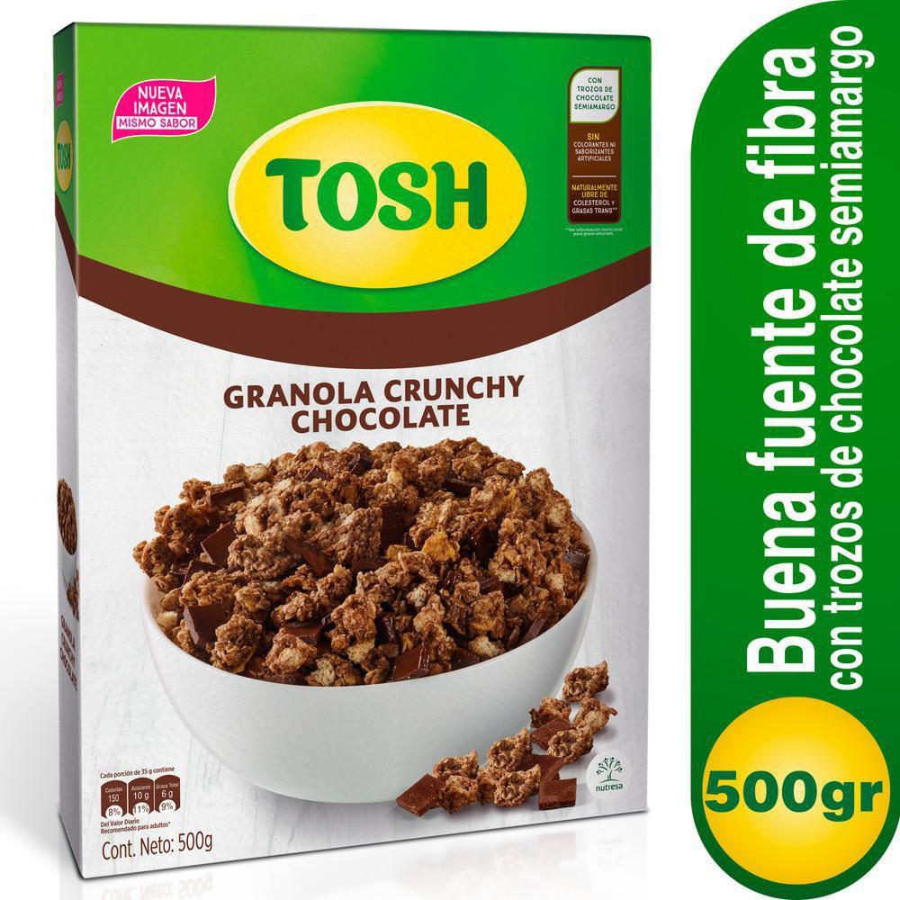 Granola Con Chocolate Caja X 500g