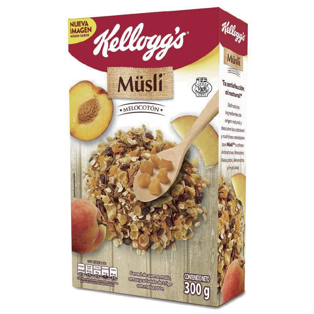 Cereal Musli Melocotón