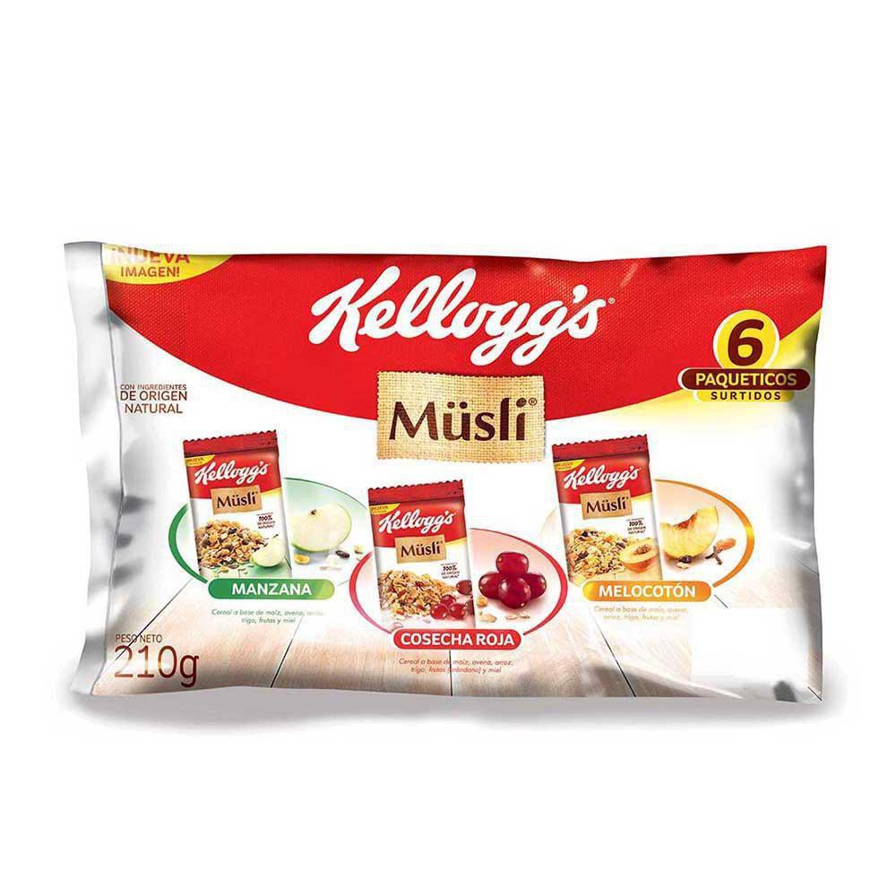 Cereal Lonchera Musli 210 gr