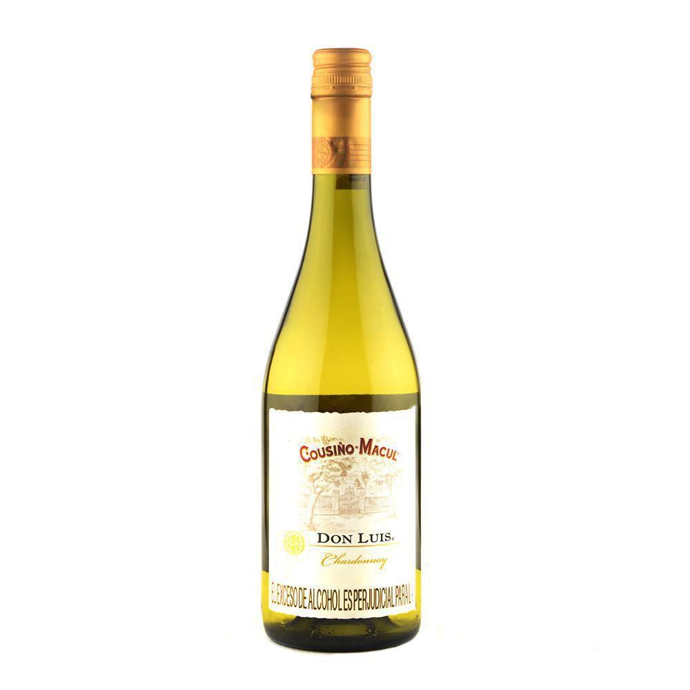 Vino Chileno Chardonnay Don Lu X 750ml