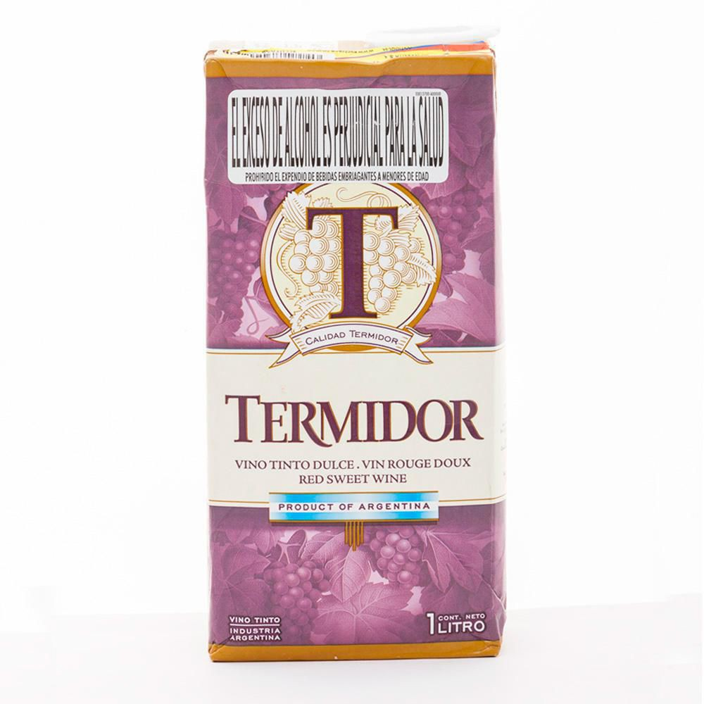 Vino Tinto Dulce Termidor Caja X 1000ml