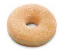 Donuts sucre 52 gramos