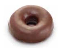 Donuts negrita 60 gramos