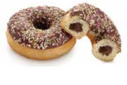 Donuts tutti choc 75 gramos
