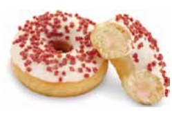 Donuts rellena fresa 75 gramos