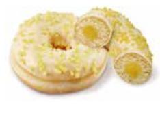 Donuts rellena limón 71 gramos