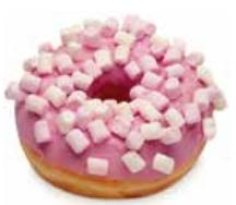 Donuts marshmallows 36 gramos