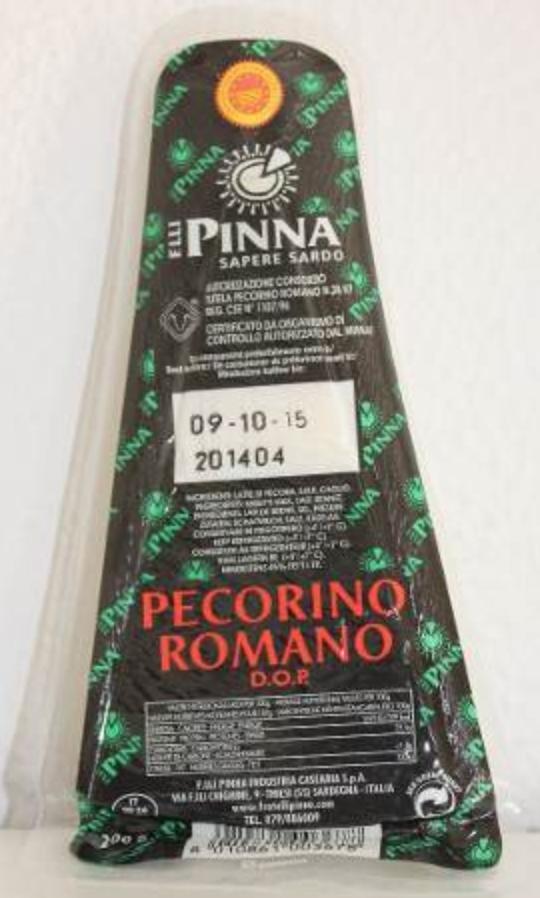Pecorino Romano Dop 200 gr