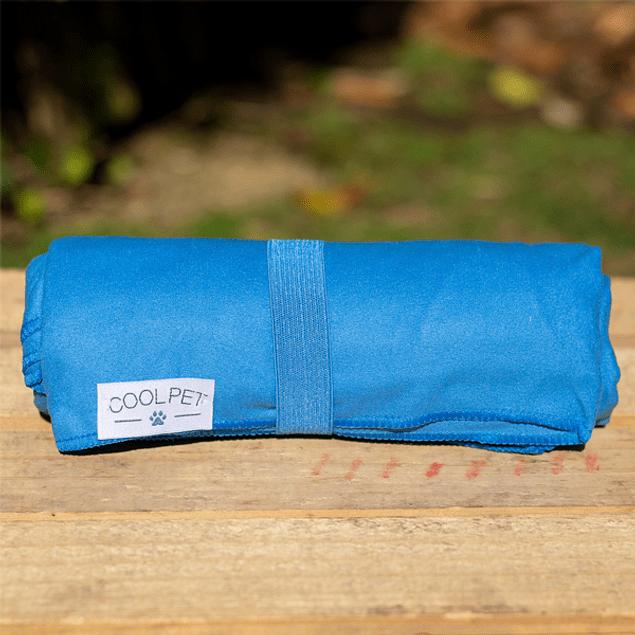 Toalla microfibra grande azul 150cm x 75cm