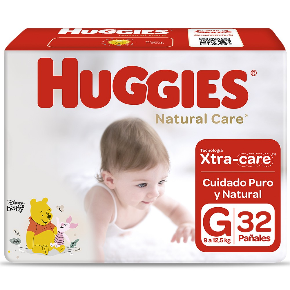 Natural Care pañales unisex G