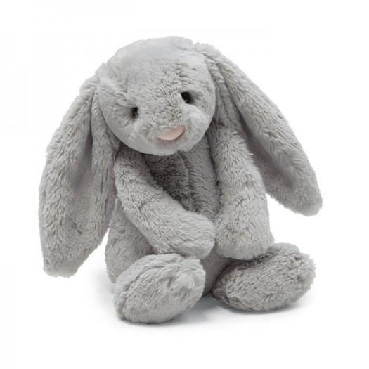 Peluche mediano conejo gris 1 un