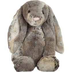 Peluche mediano conejo gris woodland