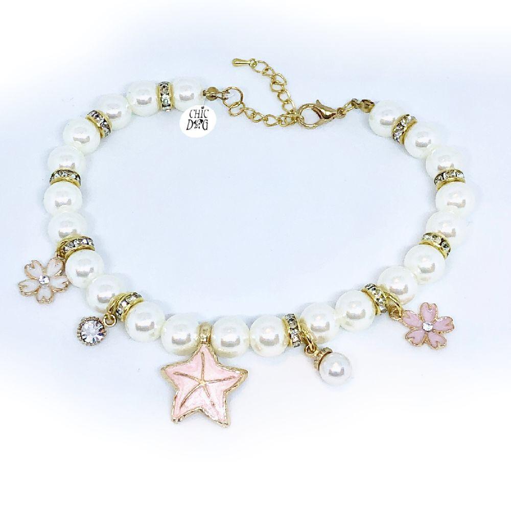 Collar perlas niza largo 30cm