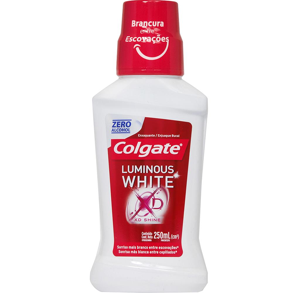 Enjuague Bucal Colgate Luminous White X 250Ml