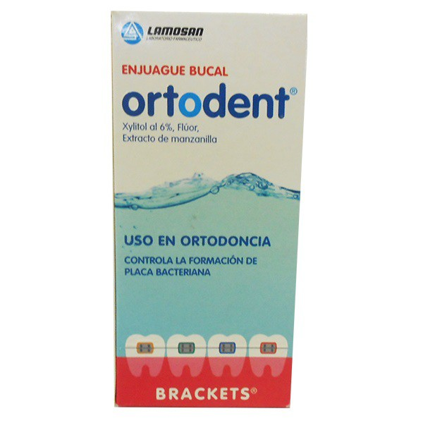 Enjuague Bucal Ortodent X 240Ml