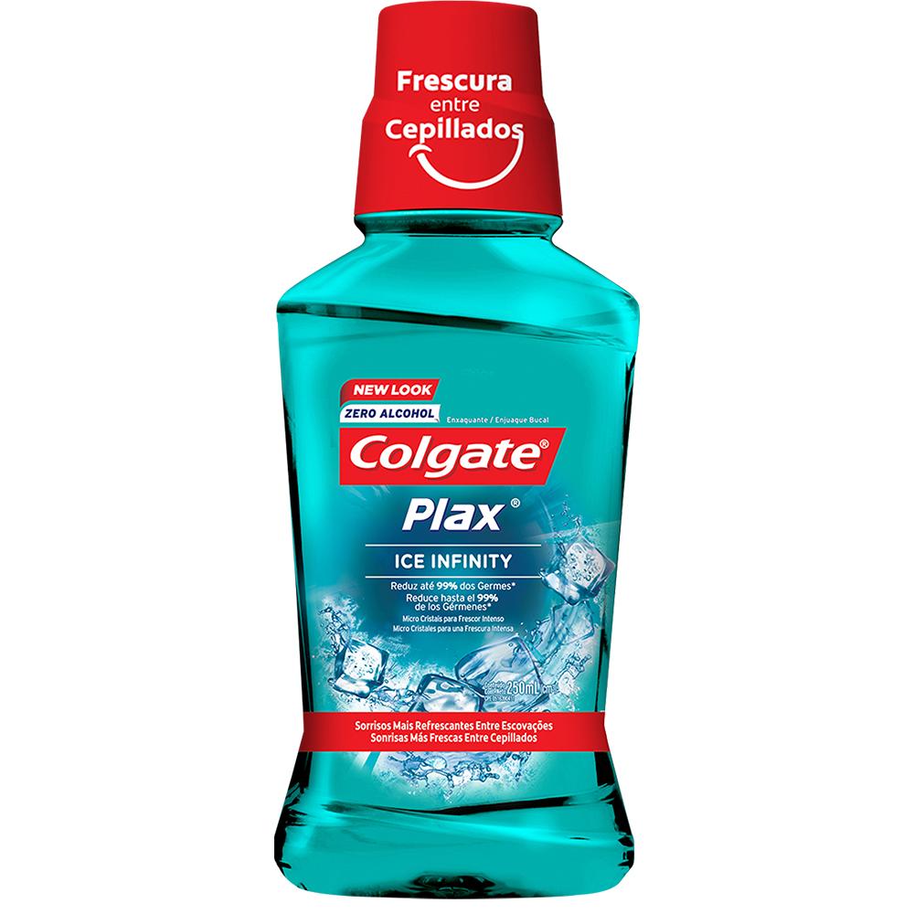 Enjuague Bucal Colgate Plax Ice Infinity X 250Ml