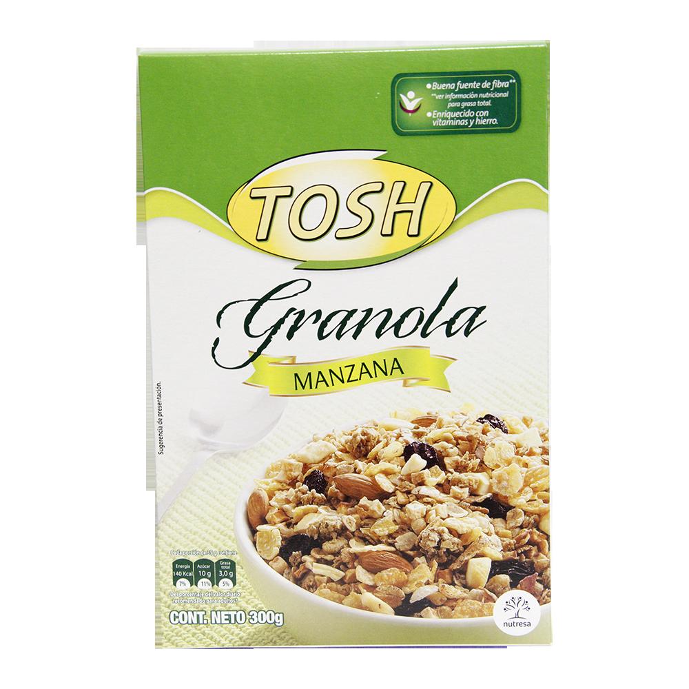 Cereal Tosh Manzana Caja X 300Gr