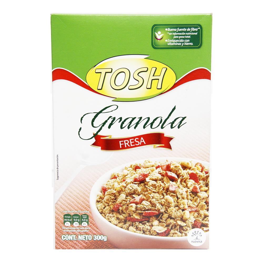 Cereal Tosh Fresa Caja X 300Gr