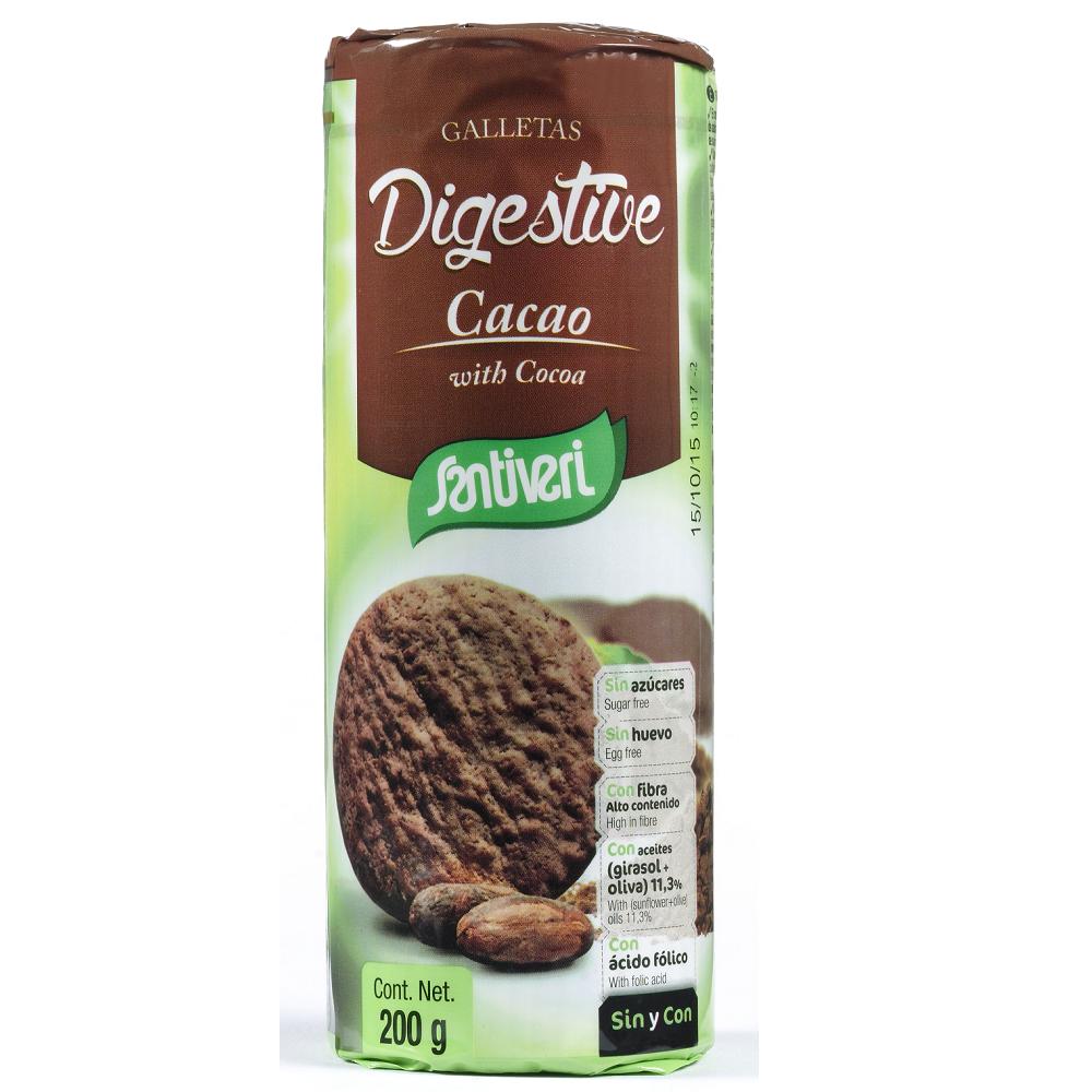 Galletas Digestive Cacao Santiveri