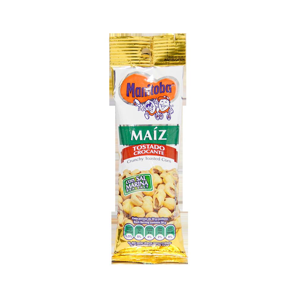 Maiz Crocante Tostado X 30Grm Manitoba