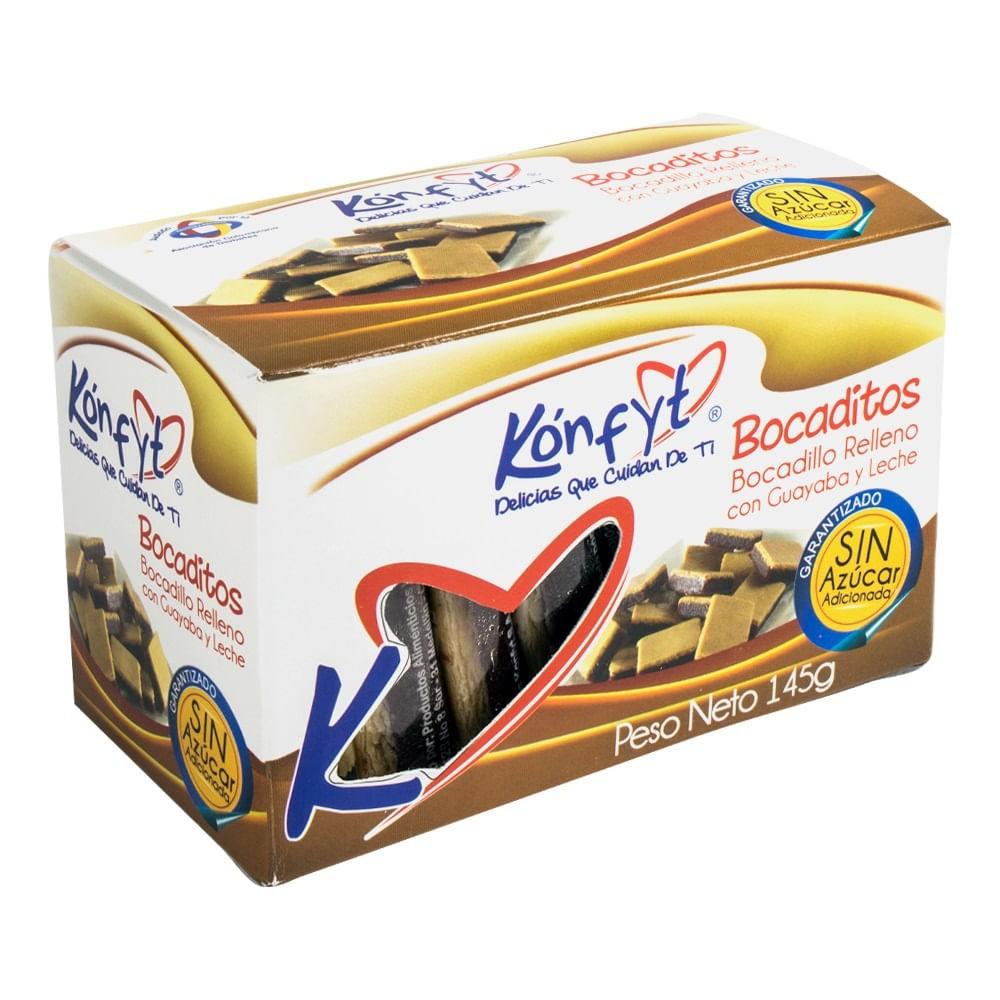 Bocadillos guayaba y leche Caja 145 g