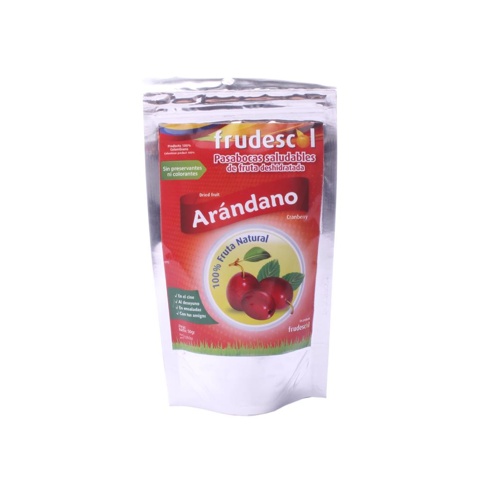 Fruta Deshidratada Cranberry X50Gr