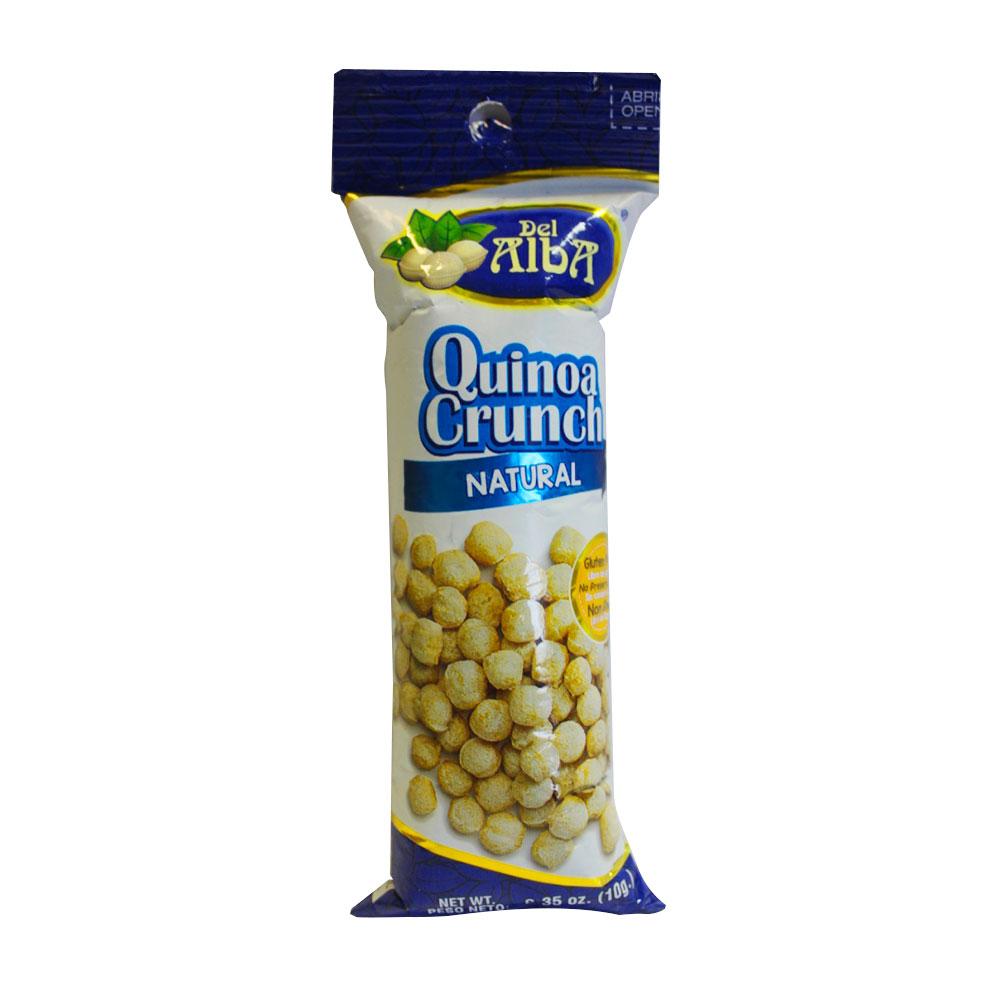 Quinoa Crunch De Alba Natural X 10Gr