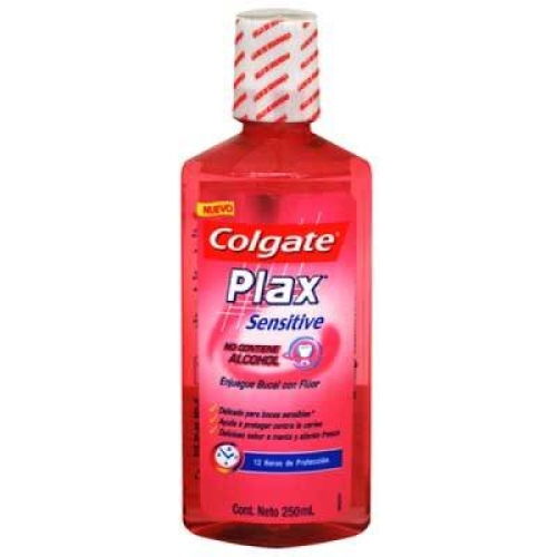 Enjuague bucal plax sensitive 250 ml