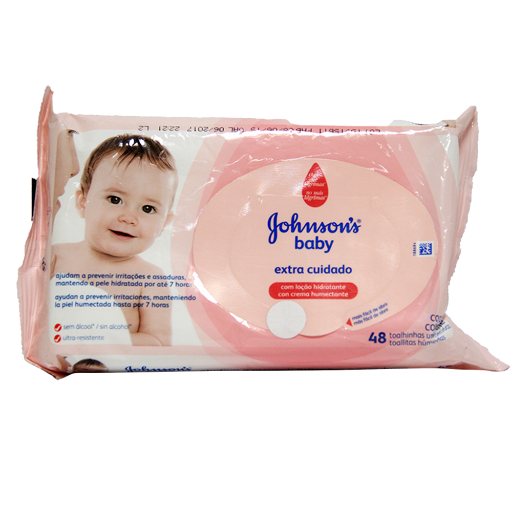 Toallas Humedas Extra Cuidado Johnsons X 48Und