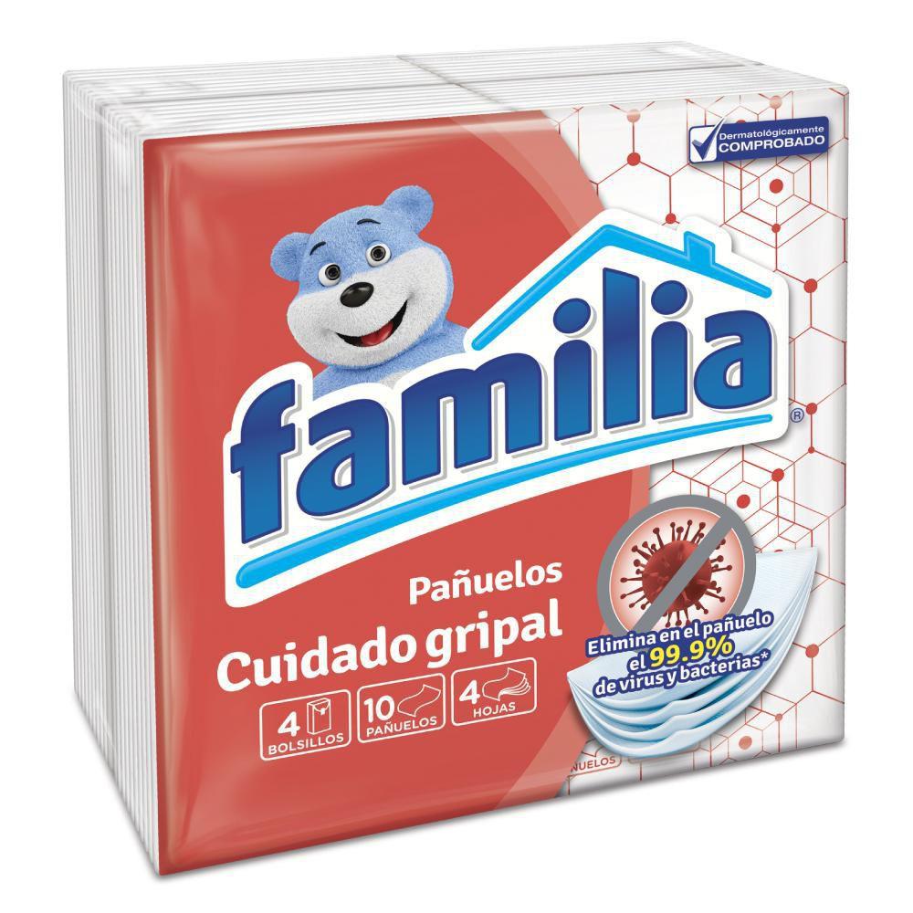 Pañuelos cuidado gripal
