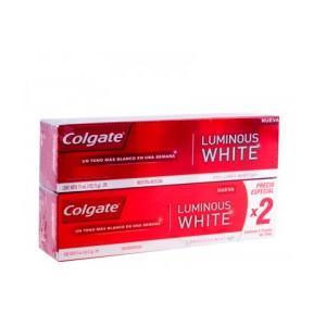 Of.Crema Dental Colgate Luminous White X 2