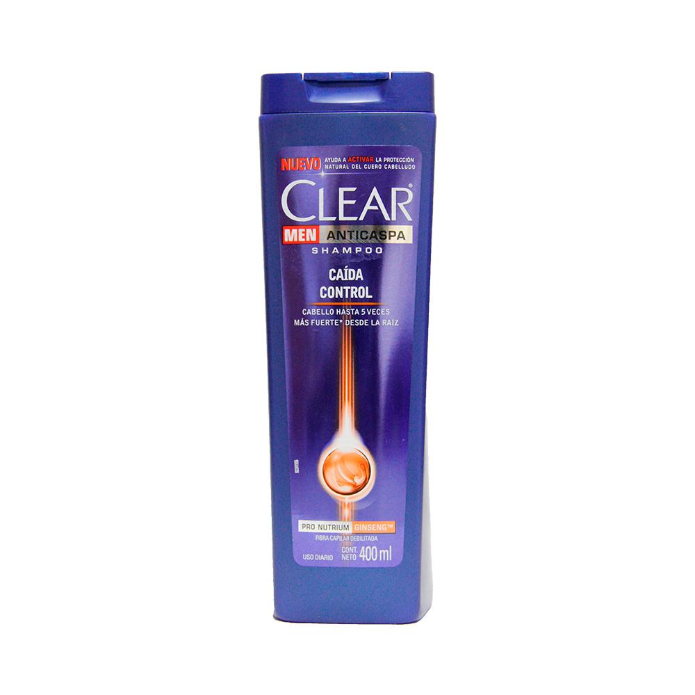 Shampoo Clear Caida Control X 400Ml